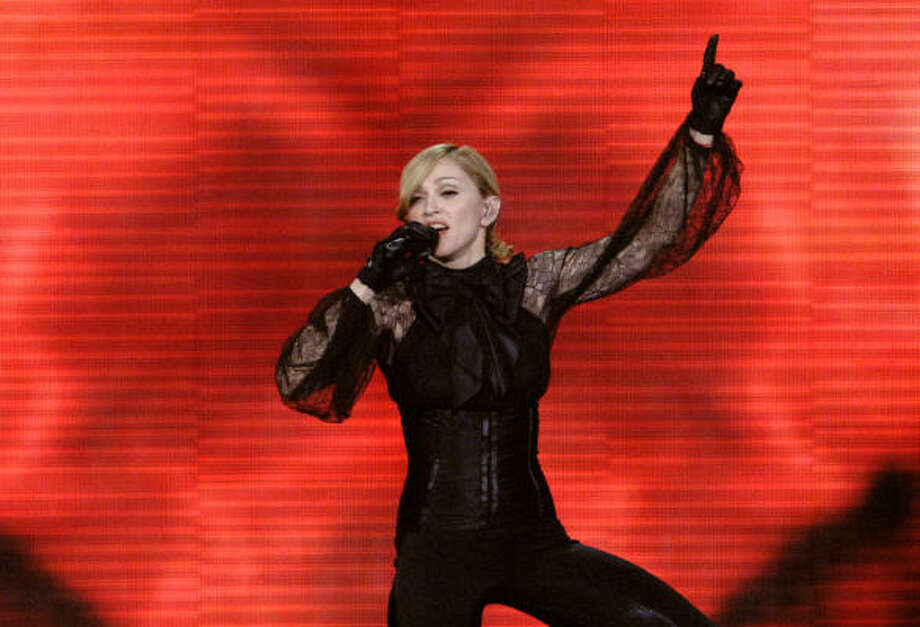 Madonna performs in Prague, Sept. 6. Photo: MICHAL CIZEK, AFP/Getty Images
