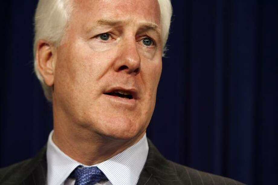 Sen. John Cornyn, R-Texas, thinks Bush needs to back spending for border control. Photo: Chip Somodevilla, Getty Images
