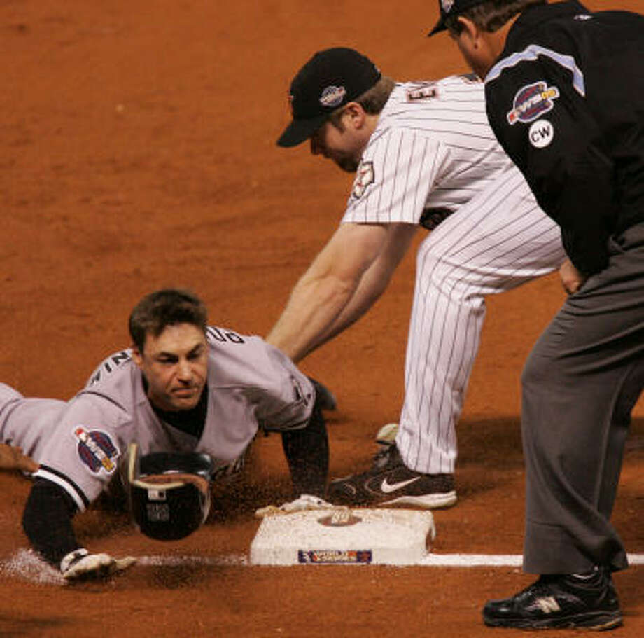 How quickly we forget. Just a year ago, the Astros were taking on Scott Podsednik and the White Sox in the World Series. Photo: Mayra Beltran, Chronicle
