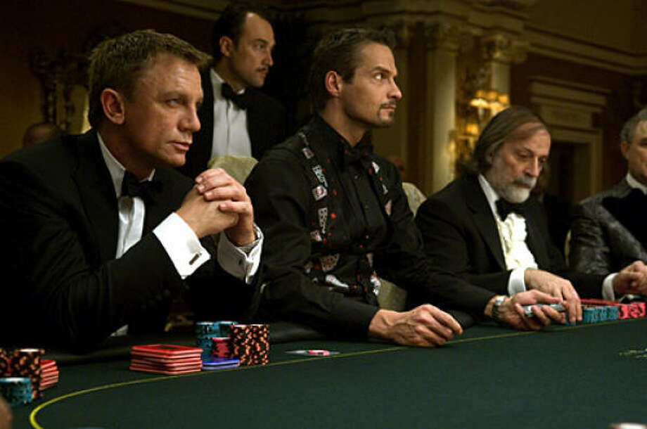 Daniel Craig stars as James Bond, left, in Casino Royale. Photo: Sony Pictures
