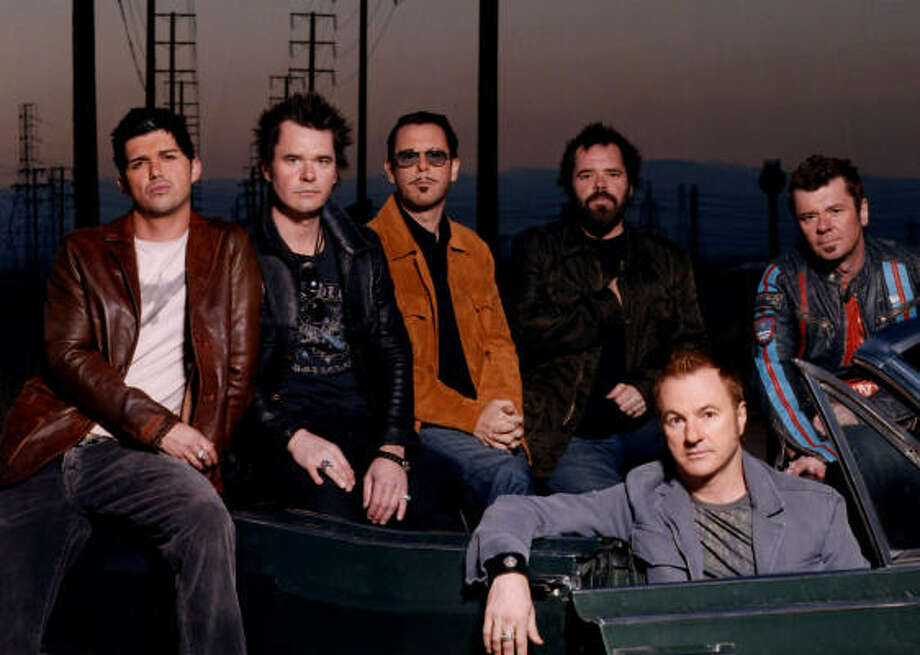 INXS will be in Houston tonight at Verizon Wireless Theater. Photo: Epic Records