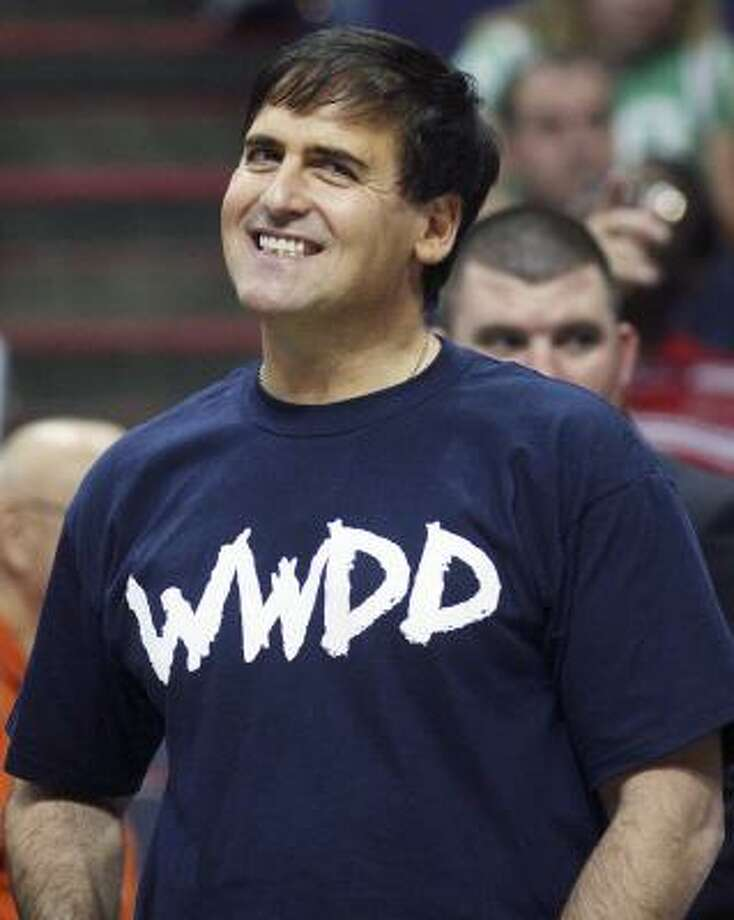 Owner Mark Cuban's Mavericks are worse on defense than the Knicks. Photo: JEFF TOPPING, REUTERS