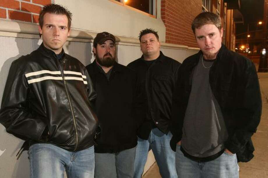 Members of Truck are Adam Lepage, from left, Kyle Bassett, Tank and Mike Carnahan. Photo: Bill Olive, For The Chronicle