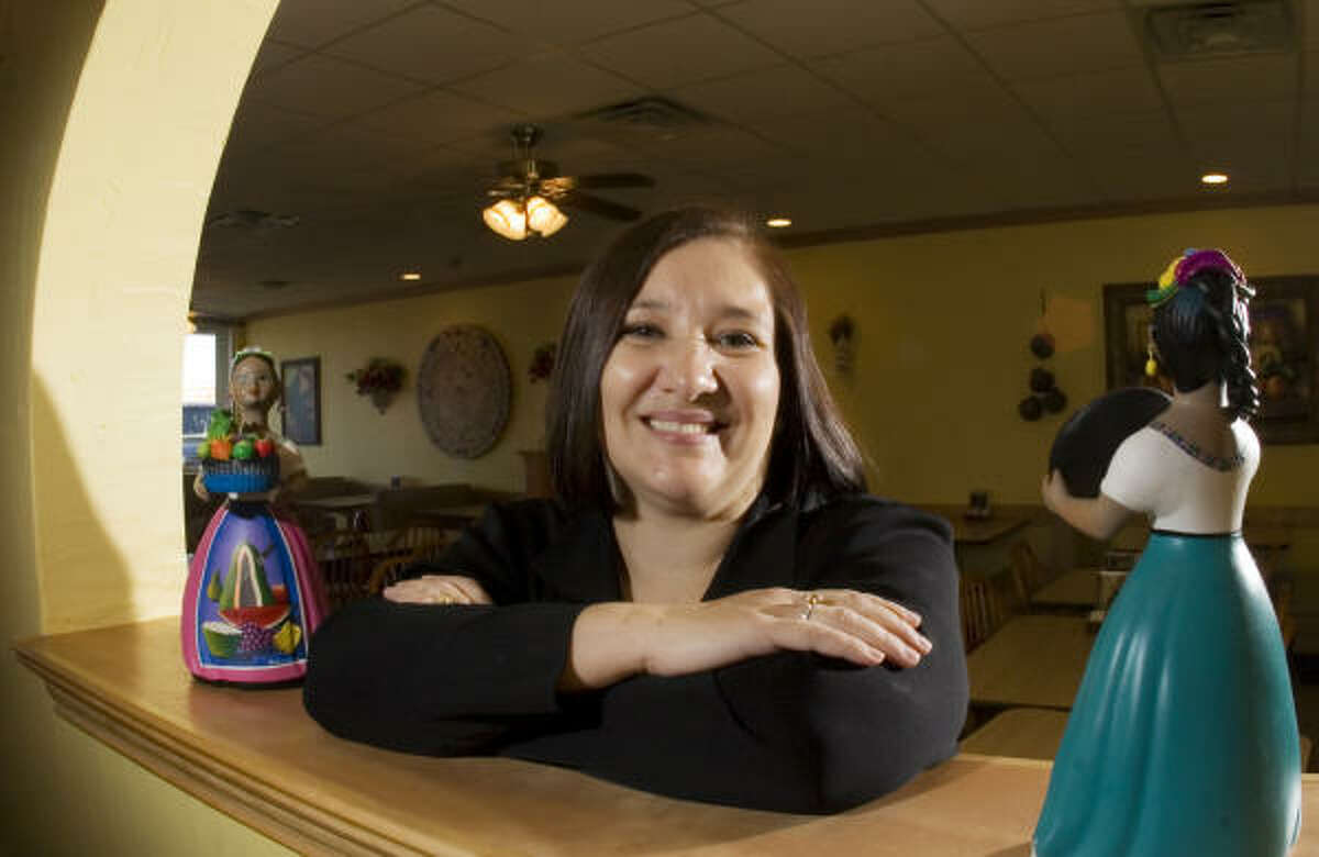 Elizabeth Villafranca, who with her husband owns Cuquita's restaurant in Farmers Branch, is leading the opposition to the anti-illegal-immigrant laws. She said Hispanics are working, buying older homes and renting apartments that would otherwise be empty.
