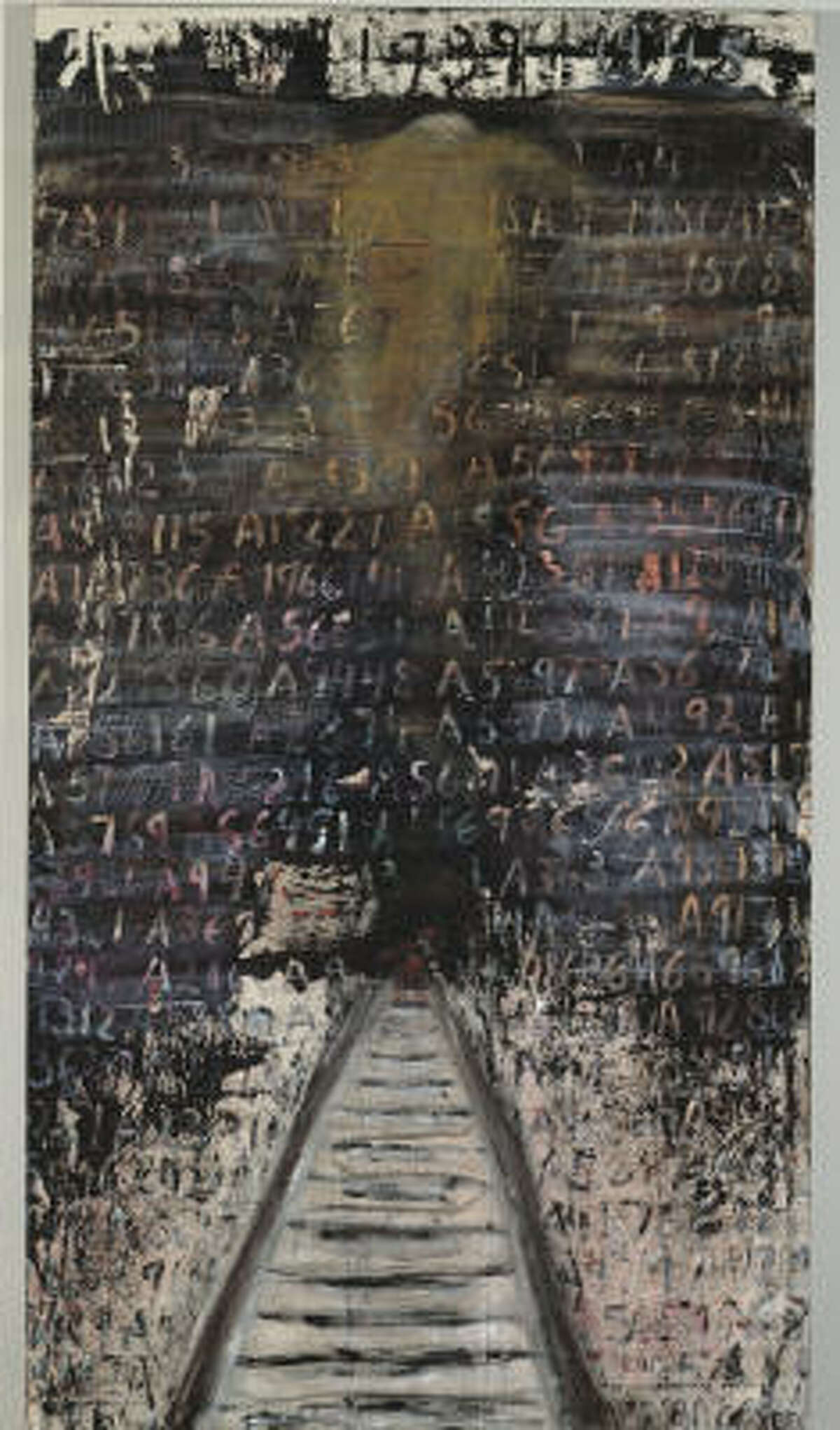 Alice Lok Cahana's No Names is a tribute to those lost in Auschwitz.