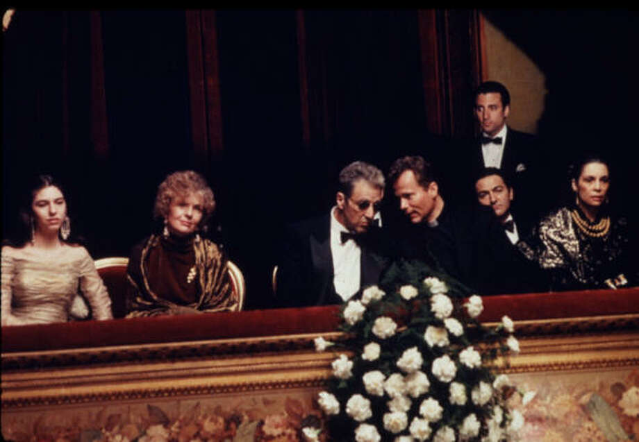 In The Godfather: Part III, a trip to the opera house had an underlying meaning. Photo: Paramount Pictures