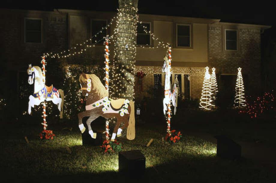 in prestonwood forest photo brett coomer chronicle - Prestonwood Forest Christmas Lights