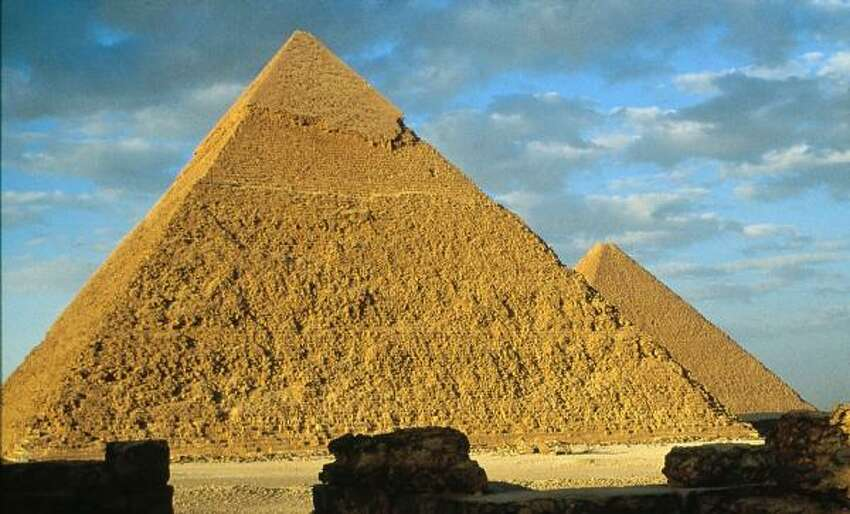 A part of history: It made you look up the original Seven Wonders of the World, whether it be via encyclopedia or the Internet. If you forgot, here's what they are: Great Pyramid of Giza (pictured) Hanging Gardens of Babylon Statue of Zeus at Olympia Temple of Artemis at Ephesus Mausoleum at Halicarnassus Colossus of Rhodes Lighthouse of Alexandria