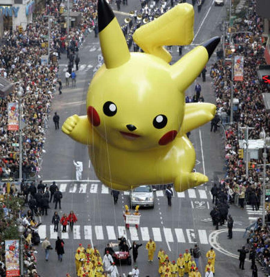 PokemonIn 1996, the first Pokemon games were released in Japan. Photo: JEFF CHRISTENSEN, AP