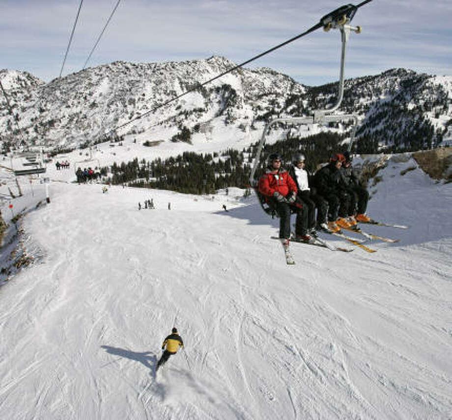 4. Alta/Snowbird, Utah Photo: DOUGLAS C. PIZAC, Associated Press