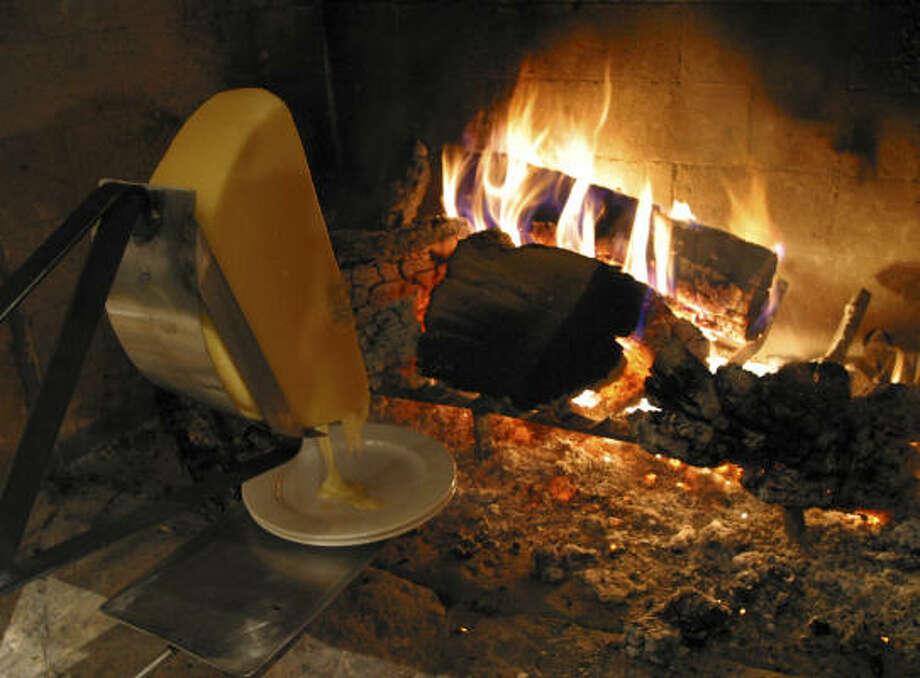 Park city scene houston chronicle - La table a raclette ...