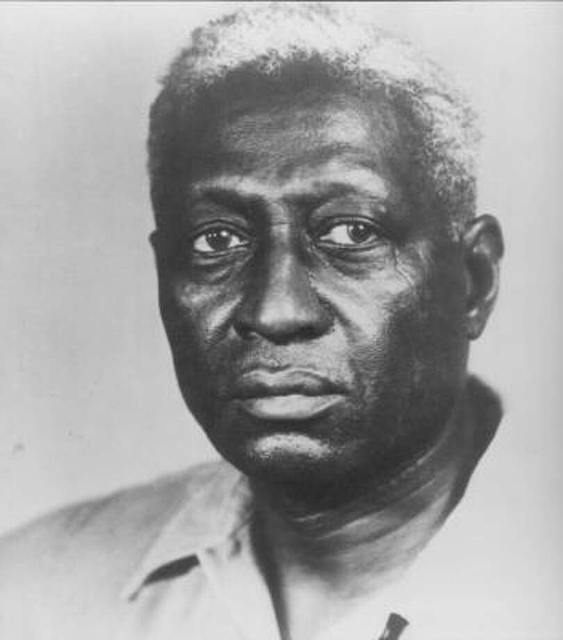 Among the most famous former residents of the Louisiana State Penitentiary -- often referred to as Angola -- was folk music legend Leadbelly. A small prison museum references his time there.  Photo: Playboy Records And Music C