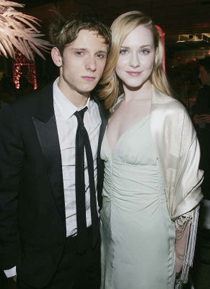 Married: Actor Jamie Bell and actress Evan Rachel Wood were married on Oct. 30. Photo: Evan Agostini, Getty Images