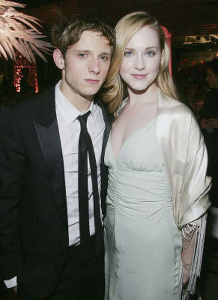 Married: Actor Jamie Bell and actress Evan Rachel Wood