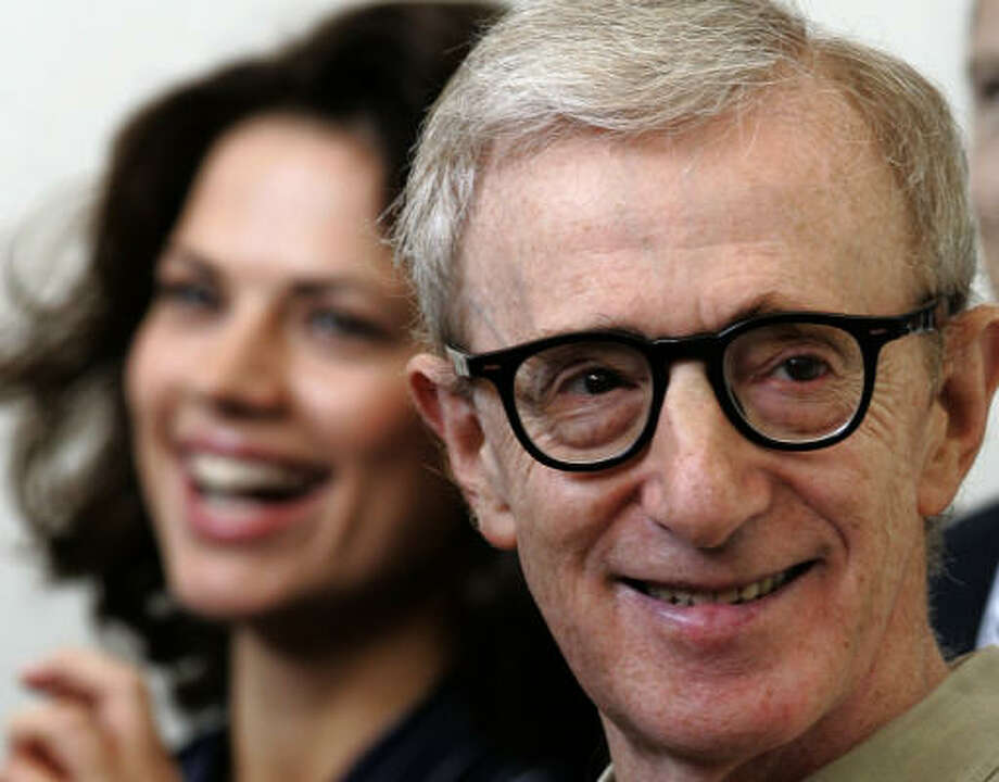 Screenwriter and director Woody Allen Photo: DOMENICO STINELLIS, AP