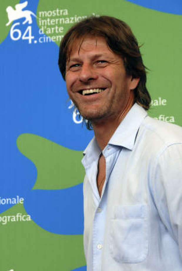 Sean Bean, all cleaned up. Photo: LUIGI COSTANTINI, AP