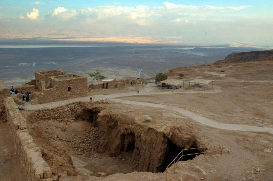 Israel:Masada. Photo: ANDREW MEDICHINI, Associated Press