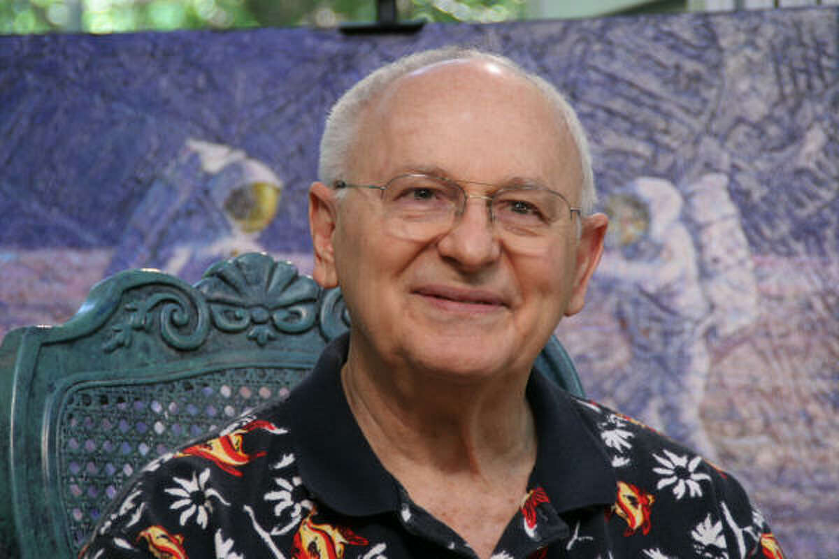 Alan Bean of Apollo 12, from the documentary, The Wonder of It All.