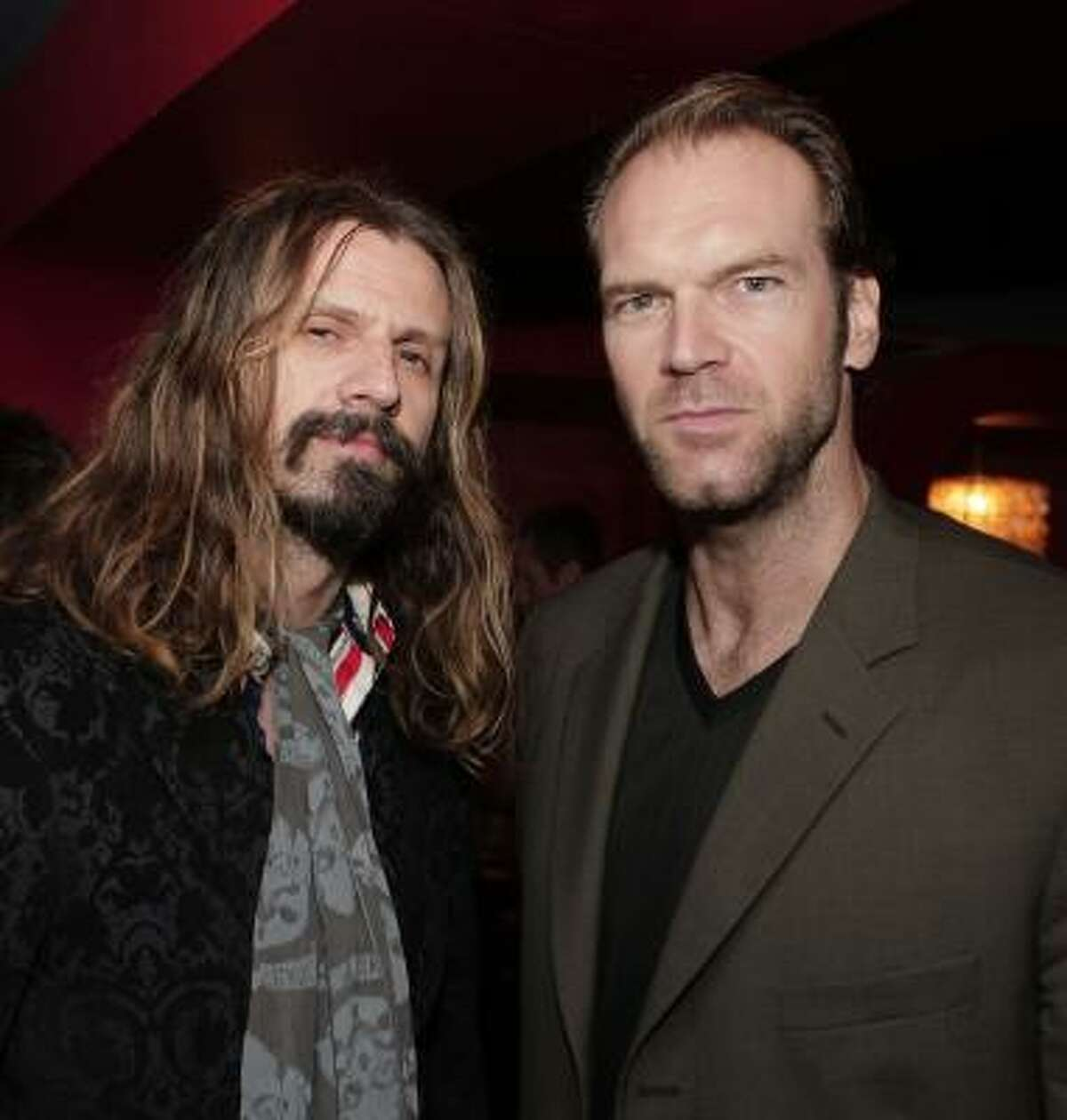 Tyler Mane, right, seen here will filmmaker Rob Zombie, left, will appear at CT Horrorfest. Mane's credits includeHalloween, Halloween II, 247 degrees, Compound Fracture, Devil May Care, The Devil's Rejects, X-Men, Penance Lane, Troy, and was a WCW wrestler.