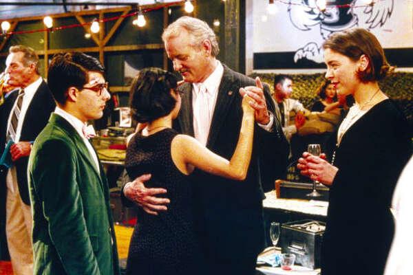 1998: Jason Schwartzman, left, and Bill Murray in Rushmore.