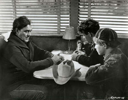 Ben Johnson, Timothy Bottoms and Sam Bottoms in 'The Last Picture Show.'  Photo: Columbia Pictures