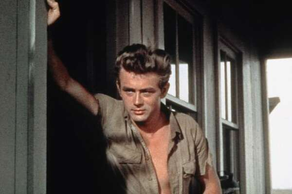 1956: James Dean in Giant.