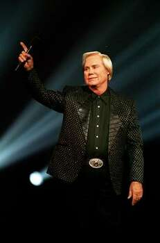 Country singer George Jones is shown performing at the Country Music Association Awards in Nashville on Sept. 29, 1993. Photo: MARK HUMPHREY, AP
