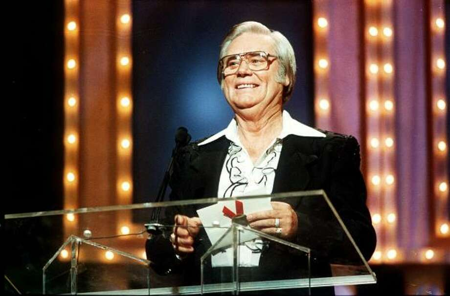 George Jones appears at the 23rd annual Music City News Country Awards show on June 5, 1989. Photo: MARK HUMPHREY, AP
