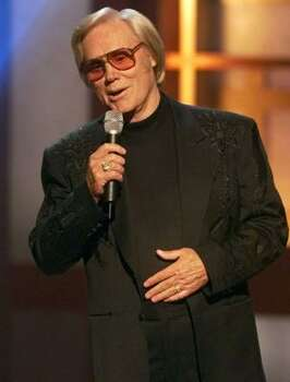 Country legend George Jones performs at the 35th Annual Academy of Country Music Awards in Universal City, Calif., Wednesday, May 3, 2000. Photo: KEVORK DJANSEZIAN, AP