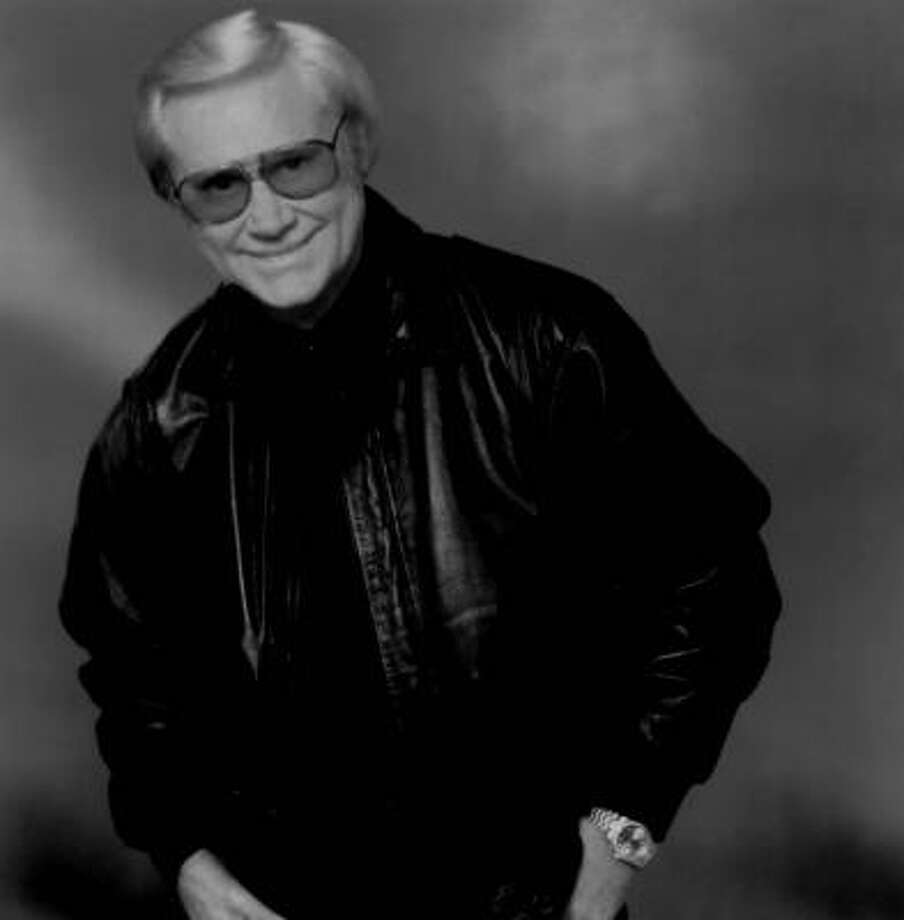 This publicity photo of George Jones was taken in about 1998. Photo: MICHAEL GOMEZ