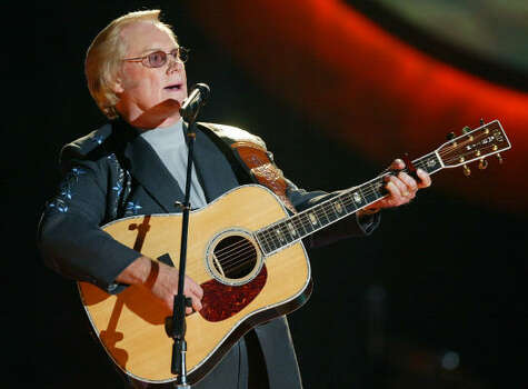 George Jones performs He Stopped Loving Her Today during CMT's tribute to the 100 greatest songs of country music in Nashville, Tenn., June 2003. The song was No. 2 on the list. Photo: JOHN RUSSELL, AP