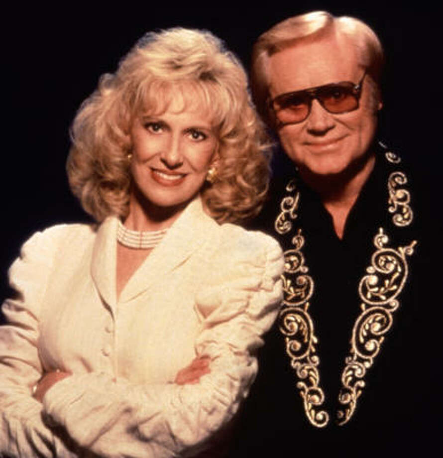 Tammy Wynette and George Jones are shown in this undated publicity still. Photo: Harry Langdon, TBS