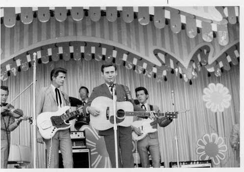 George Jones performs in this undated photo.