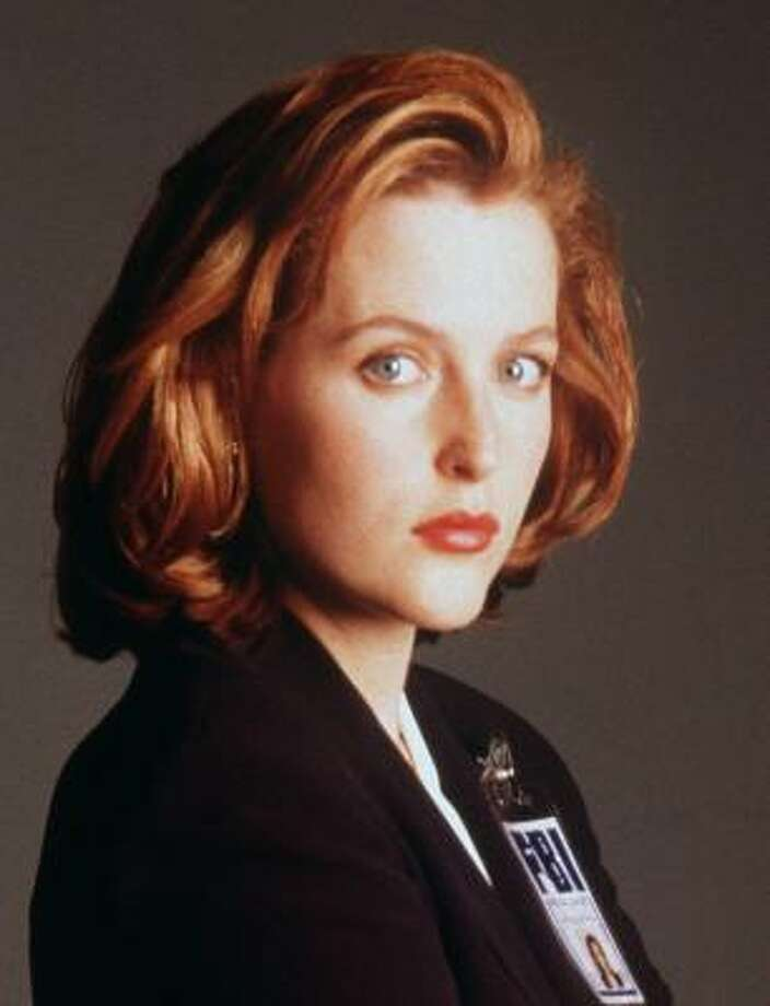 Gillian Anderson was a star of Fox's long-time drama The X-Files . Photo: AP File
