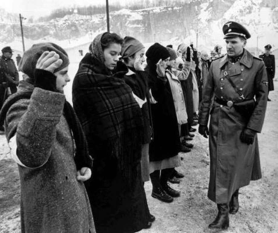 "Schindler's List (1993) ""The list is an absolute good. The list is life. All around its margins lies the gulf."" Photo: ASSOCIATED PRESS"