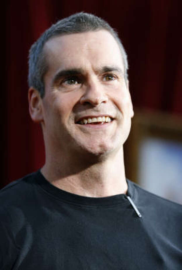 Henry Rollins, the legendary singer from Black Flag, helped put out a benefit album. Photo: Gus Ruelas, AP