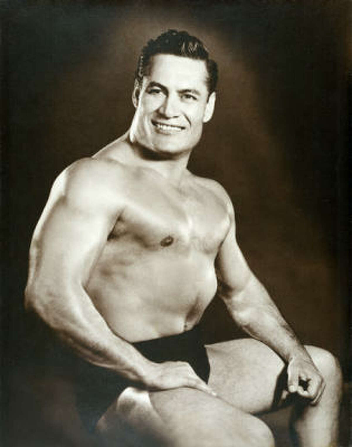 Cyclone Anaya's Mexican Kitchen, a group of Houston-based Tex-Mex restaurants has been sold to the Heritage Restaurant Group. Shown: Jesus Becerra Valencia, the former Mexican wrestler who founded Cyclone Anaya's in Houston in 1966 with his wife, Carolina Berzeny, a beauty queen who was the reigning Miss Houston when they met. His images are part of the design decor at Cyclone Anaya restaurants.