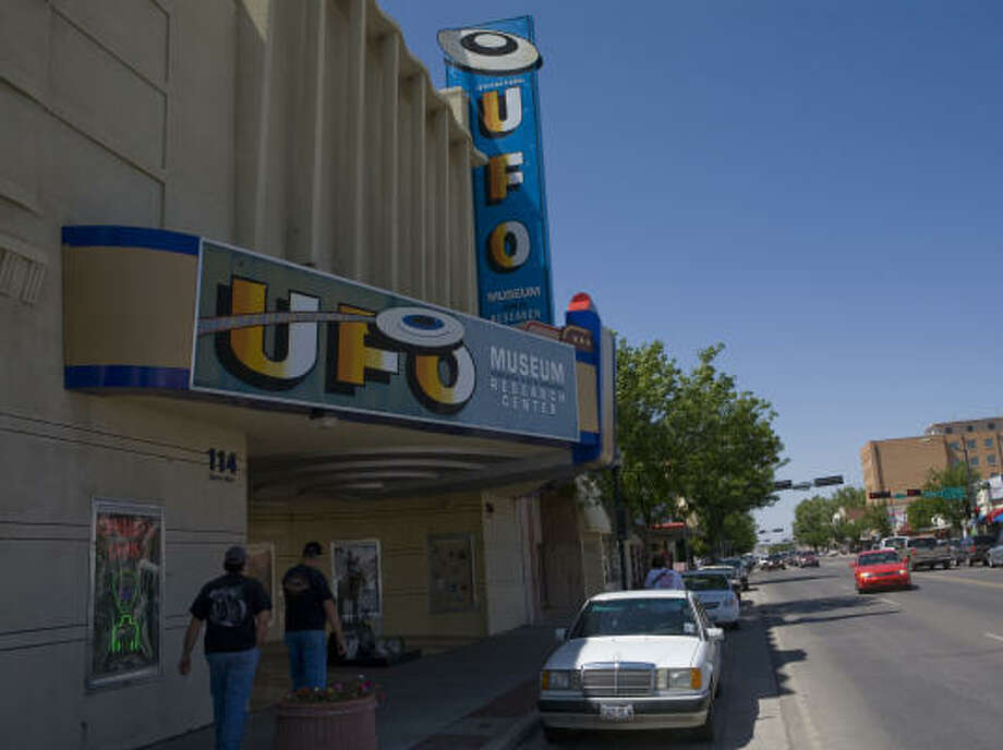 Roswell's biggest attraction is the UFO Museum. Photo: Jake Schoellkopf, Associated Press