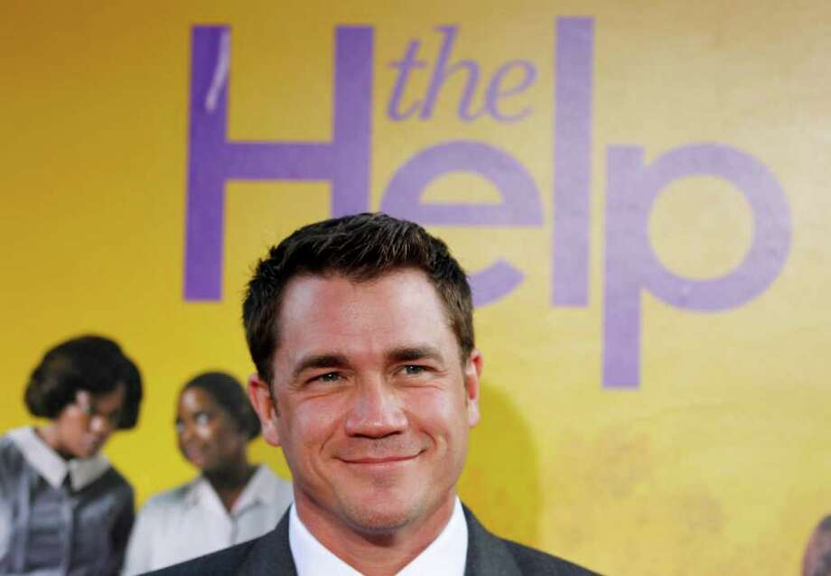 """Director and screenwriter Tate Taylor arrives at the premiere of """"The Help"""" in Beverly Hills, Calif., Tuesday, Aug. 9, 2011.  """"The Help"""" opens in theaters Aug. 10, 2011. (AP Photo/Matt Sayles) Photo: Matt Sayles"""