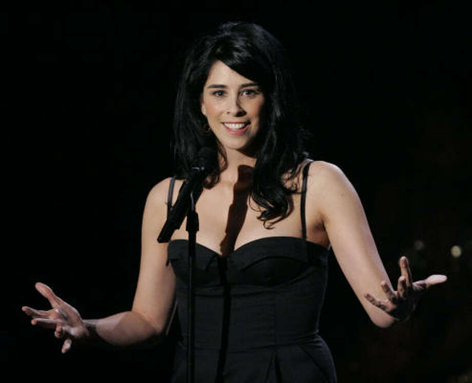 Sarah Silverman's sense of humor has no boundaries, but some took offense to her abortion Twitter pics.  Photo: Mark J. Terrill, AP