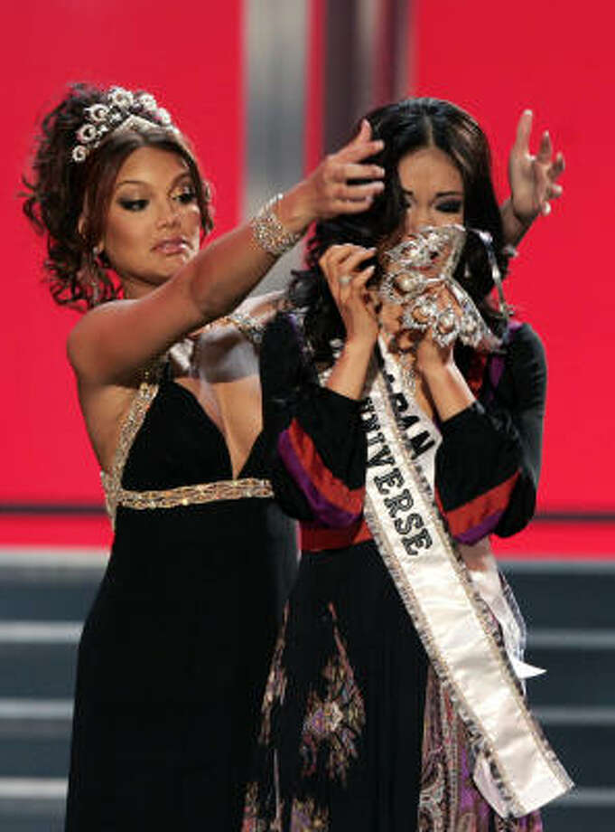 2007 MISS UNIVERSE PAGEANT - Houston Chronicle