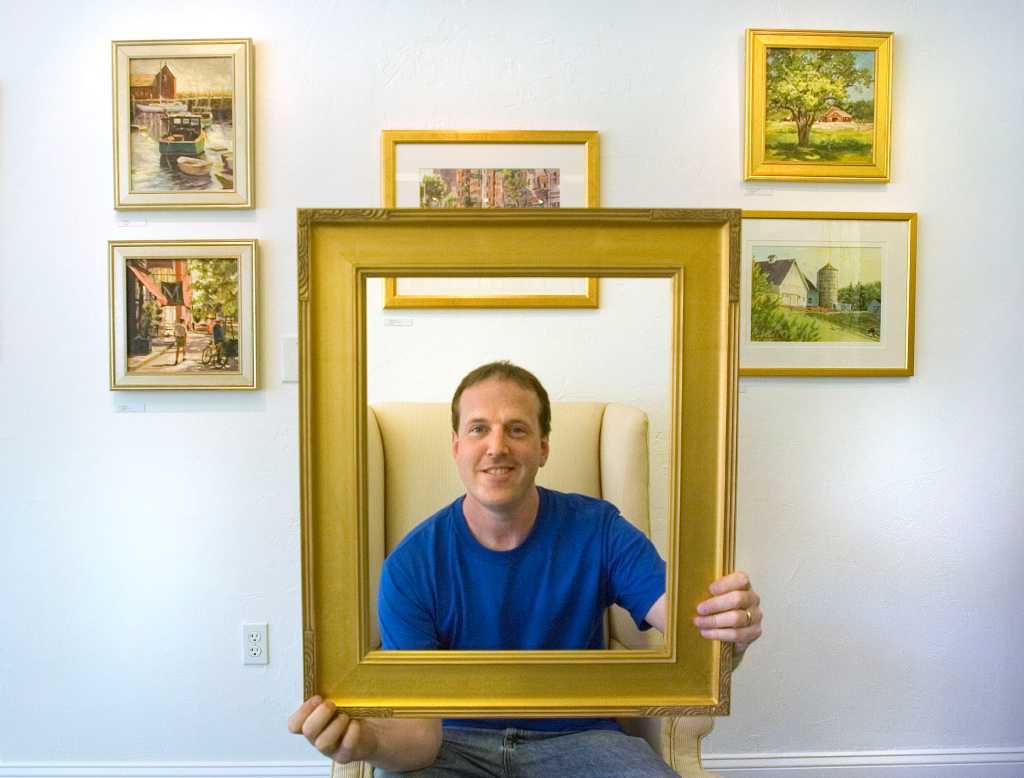 Danbury frame shop displays local artists\' work - NewsTimes