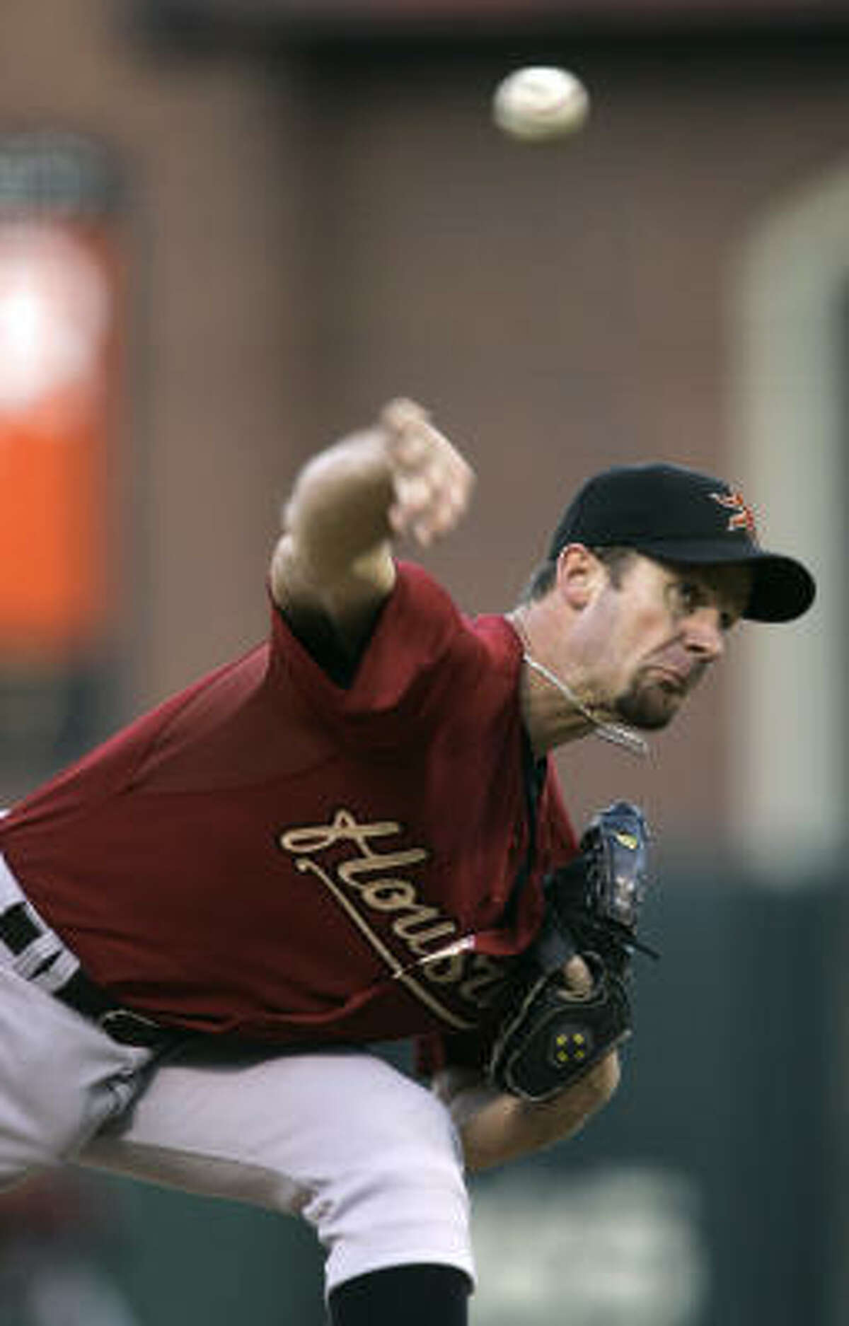 Roy Oswalt was perfect through three innings but gave up three runs in the sixth en route to losing his first game in May and third of the season. He went seven innings, striking out four, walking two and allowing four earned runs.