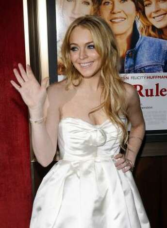 Lindsay Lohan Photo: Jason DeCrow, Associated Press