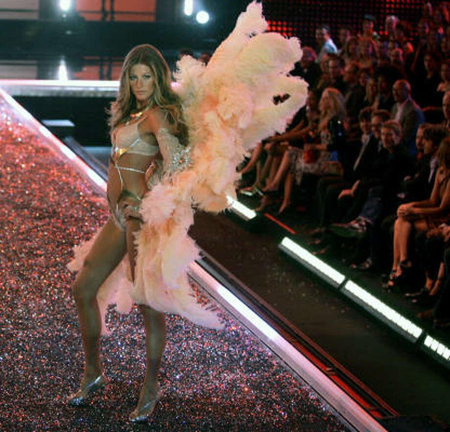 Gisele Bundchen: Brazilian model, German name. Photo: CHRIS CARLSON, Associated Press