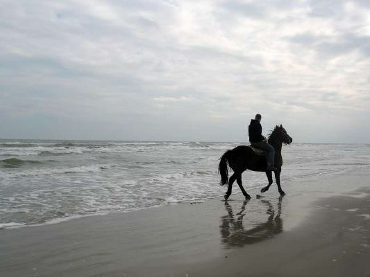 Best beach for riding horses: Hire a horse from North Padre's Mustang Riding Stables and mosey over to Padre Balli Beach for a ride along the water's edge or right into the surf. MORE INFO | MAP