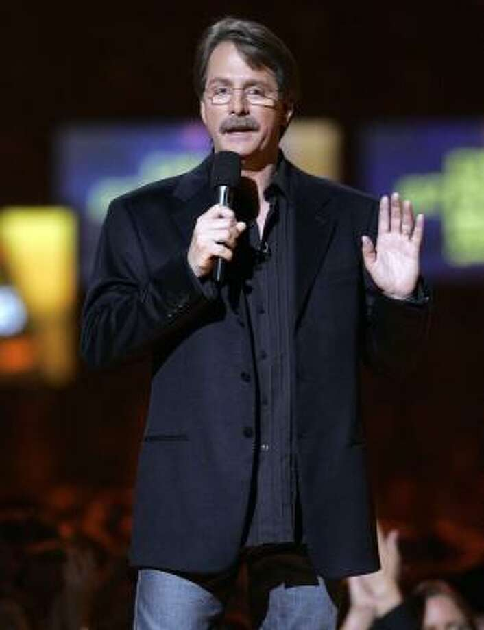 """Never again: """"The Jeff Foxworthy Show."""" Would you believe that """"you might be a redneck"""" jokes barely even fill up one season worth of sitcom material?  Photo: Mark Humphrey, Associated Press"""