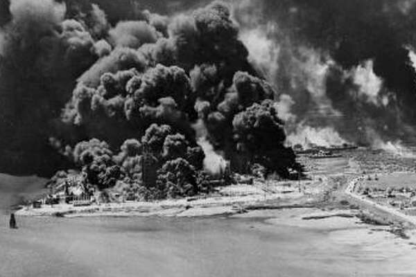 Nearly 600 people died when a freighter docked at Texas City exploded on April 16, 1947. The huge cloud of smoke created by the 1947 explosion of the French ship Grandcamp caused many to fear that an atomic bomb had detonated.