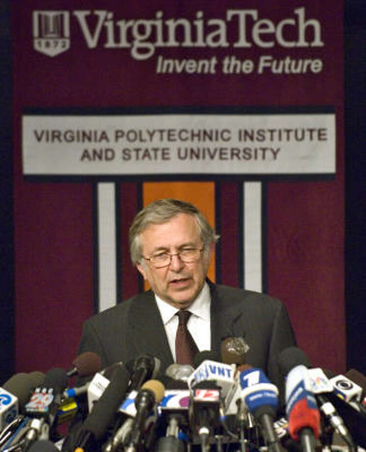 Gunman Terrorizes Virginia Tech Campus