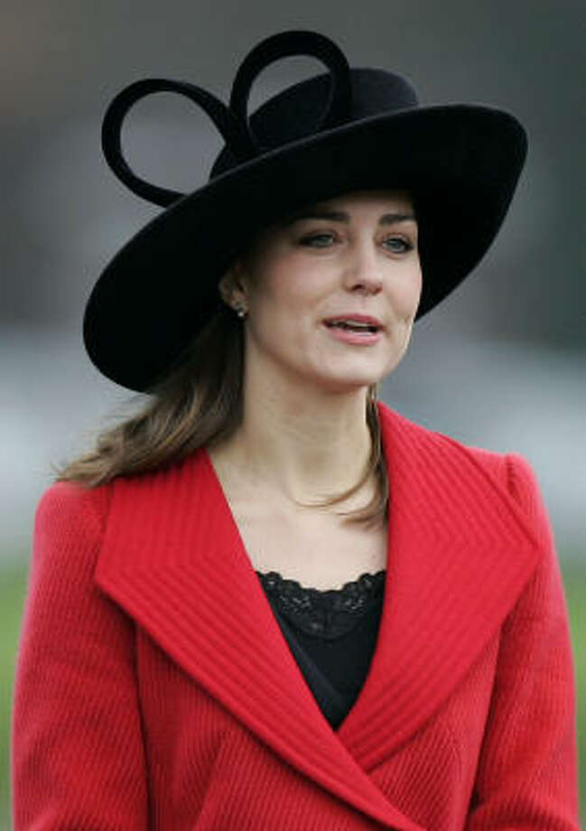 Kate Middleton arrives at the Royal Military Academy, Sandhurst, near Camberley, England, Dec. 15, 2006. Photo: KIRSTY WIGGLESWORTH, Associated Press